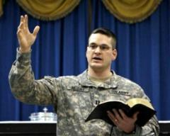 U.S. Chaplain Kenneth Reyes Censored for 'No Atheists in Foxholes'